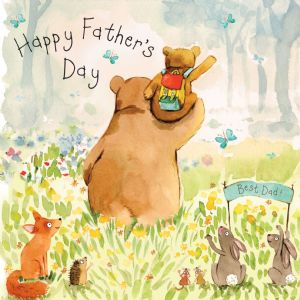 FIZ36 - Fathers Day Card Bears